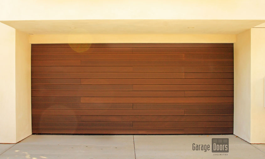 modern wood garage door. Follow Us! Modern Wood Garage Door L