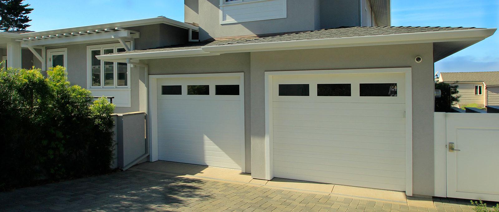 Paint Grade Custom Garage Doors