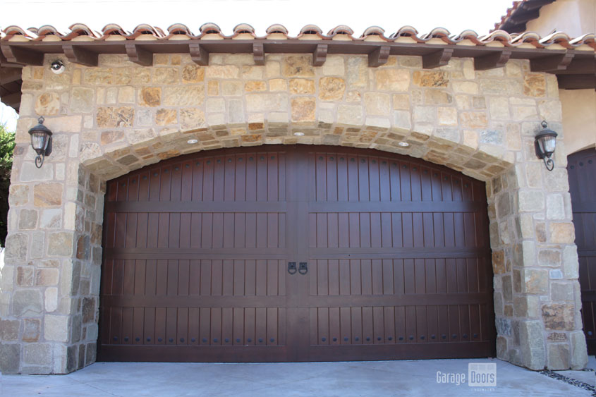 Stain Grade Custom Wood Garage Doors Garage Doors Unlimited