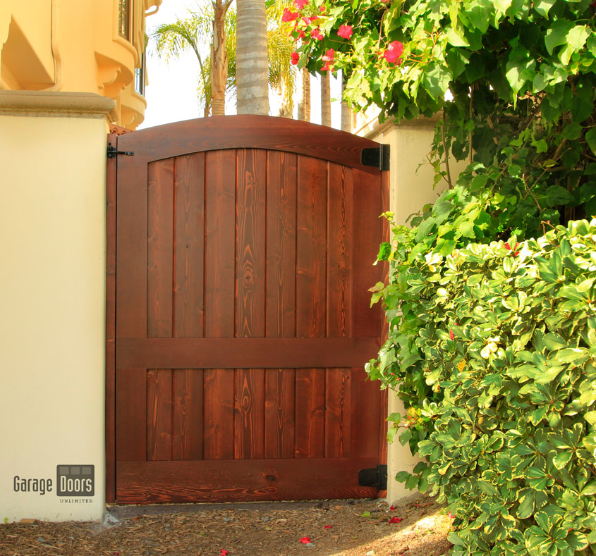 Wood Pedestrian Gates