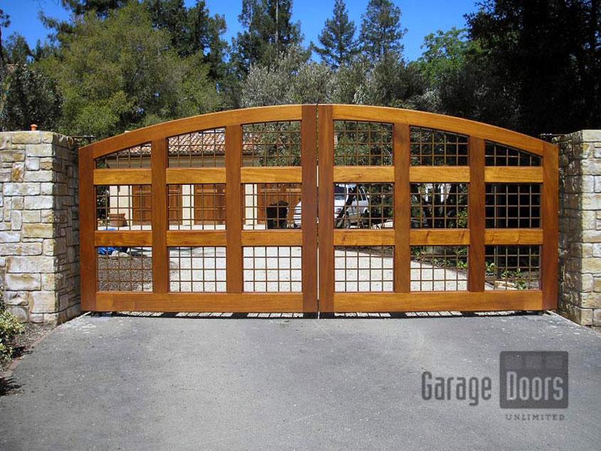 Wooden Driveway Gates Garage Doors Unlimited