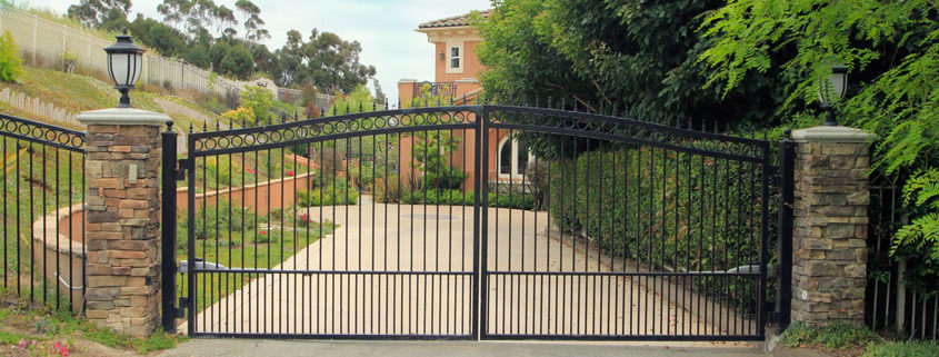 Wrought Iron Gates Elegant And Intricate Garage Doors