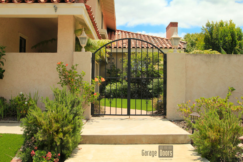 Wrought Iron Entry Gates