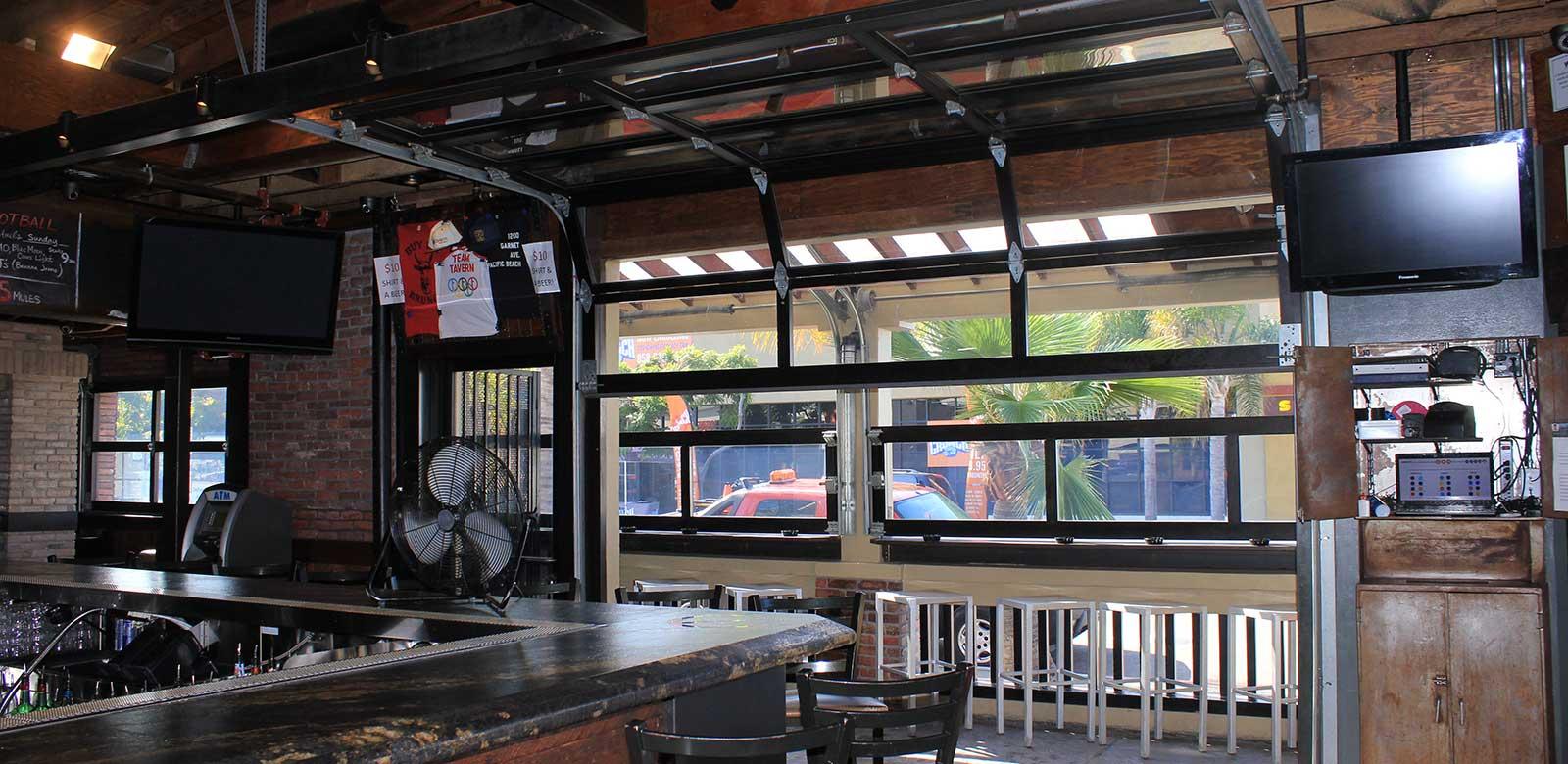 Bar Amp Restaurant Doors Garage Doors Unlimited Gdu
