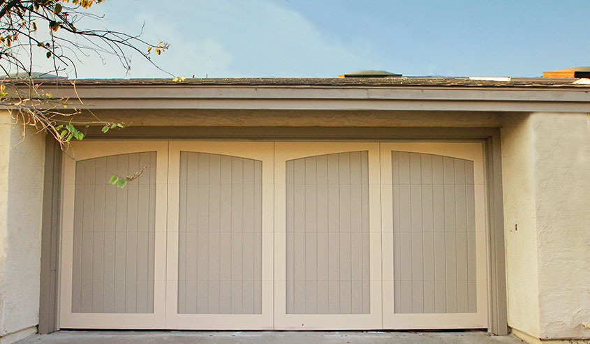 Paint grade custom garage doors garage doors unlimited for Best wood for garage doors