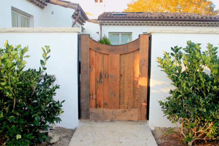 Wood Pedestrian Gate