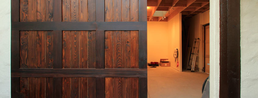 Garage Doors As Barn Doors