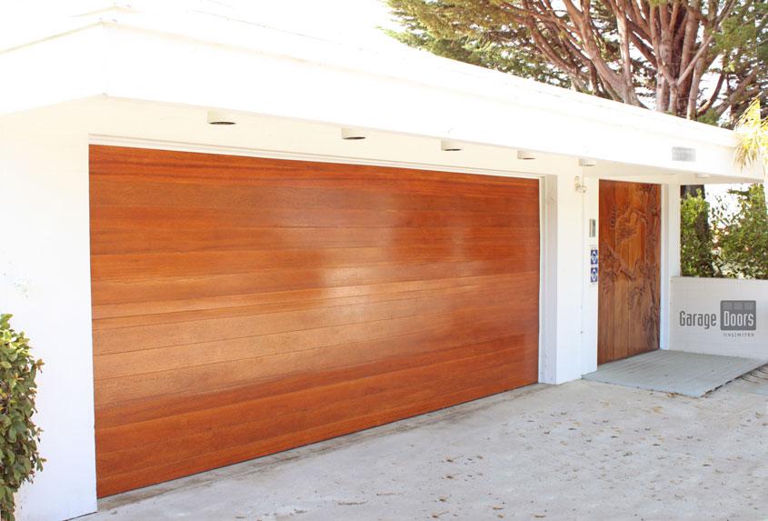. Custom Wood Garage Doors in San Diego