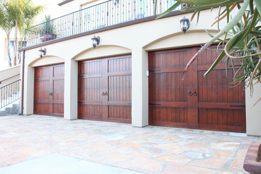 Stain Grade Custom Wood Garage Doors Unlimited