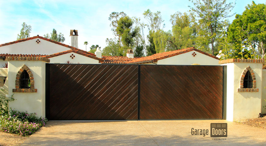 Driveway Gates Garage Doors Unlimited Gdu Garage Doors