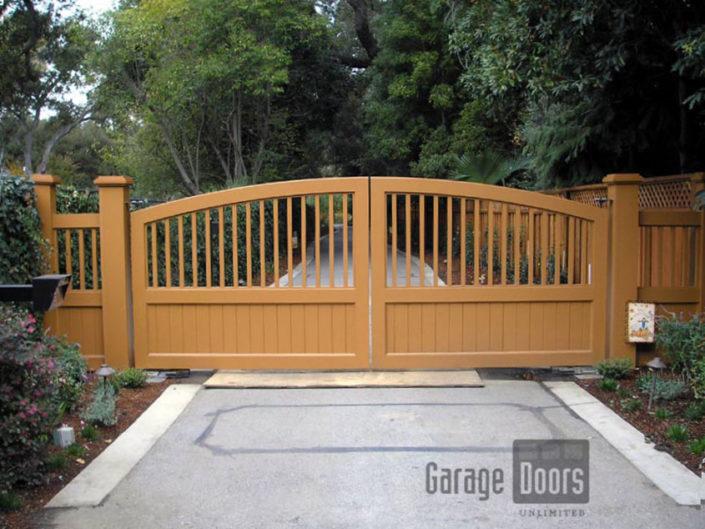 Driveway Gates Garage Doors Unlimited Gdu Garage Doors
