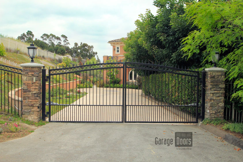 Driveway Gates | Garage Doors Unlimited | GDU Garage Doors