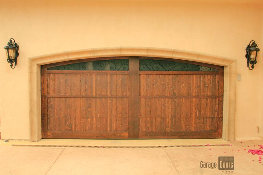Stain Grade Custom Wood Garage Doors Garage Doors Unlimited