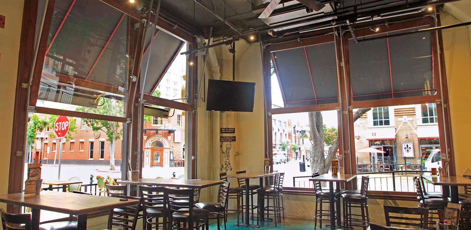 Commercial Garage Door Restaurant Intended Bar u0026 Restaurant Doors Garage Unlimited Gdu