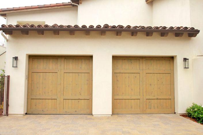 Stain Grade Custom Garage Door