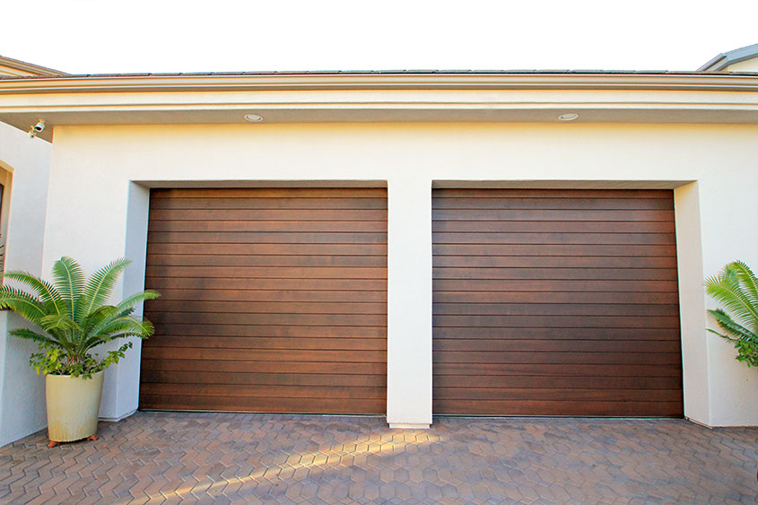 Wonderful Roll Up Wood Garage Door
