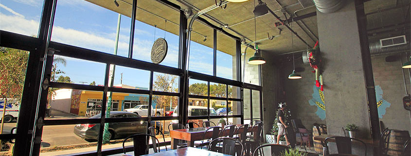 Garage Doors For Breweries And Restaurants In San Diego