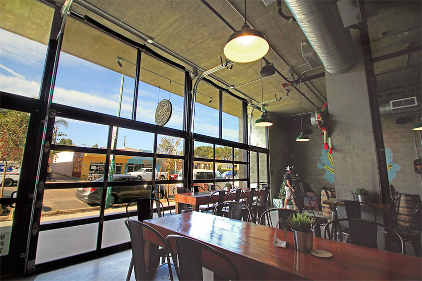 glass garage doors restaurant. Perfect Restaurant Glass Garage Doors For Breweries Throughout Restaurant S